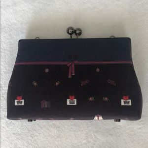 Handbags - Felted Clutch with chain (similar Gucci design)